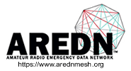 Amateur Radio Emergency Data Network Home Page. - Logo used by permission - Randy WU2S